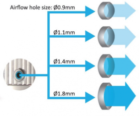 aspire airflow control