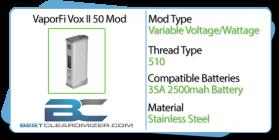 VaporFi Vox II 50 Mod review header