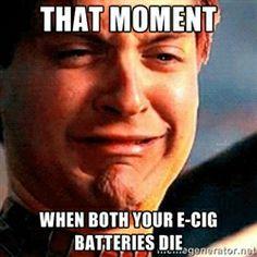 ecig battery death
