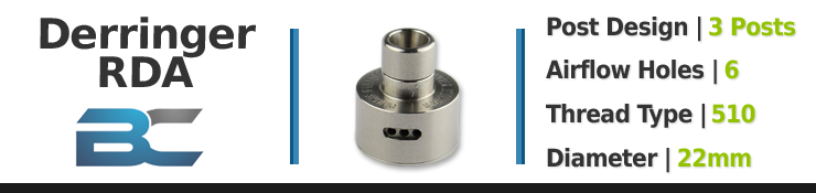 Breakdown For Derringer RDA