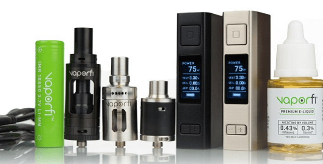 vaporfi vex 75w starter kit bundle