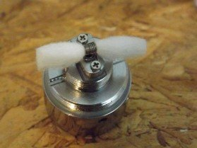 Cotton Wicks with the Kanthal Wire